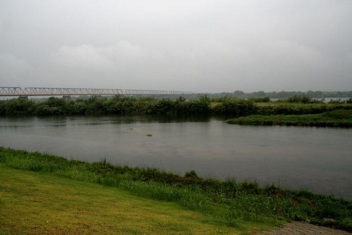 濃尾大橋付近