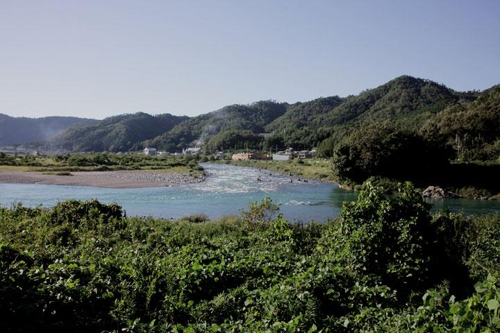 板取川と合流