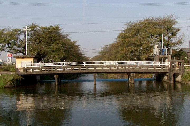 五条川と合流(大口町中小口)