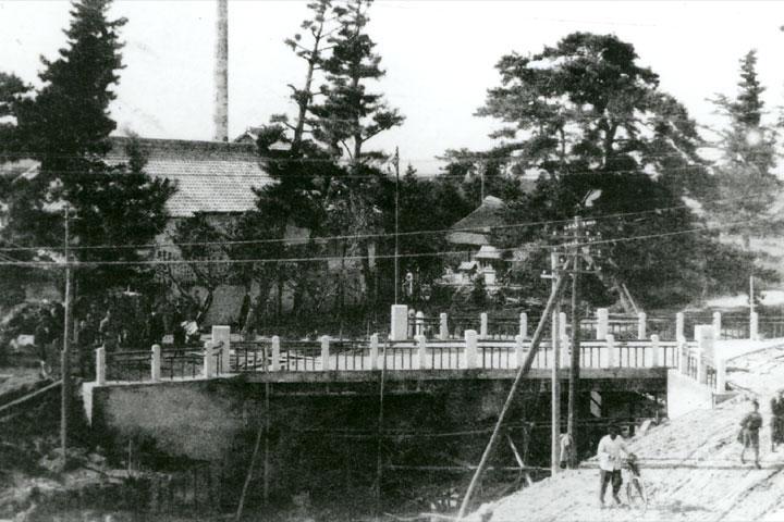 昭和初期の夫婦橋
