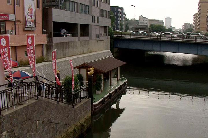 朝日橋付近