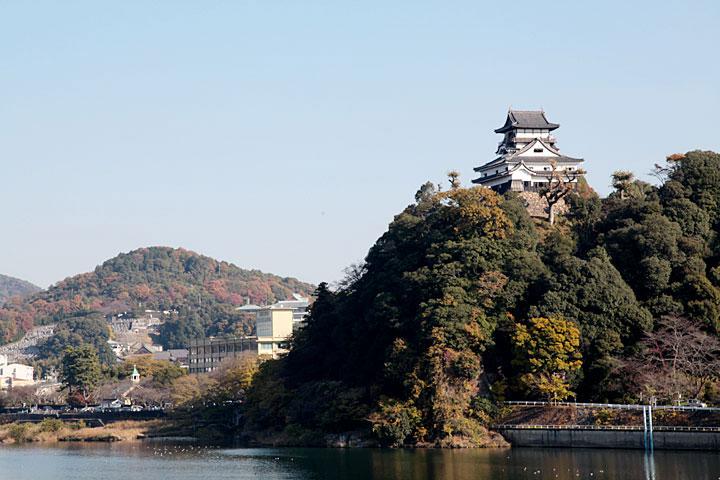 犬山城の直下に創設期取水口があった