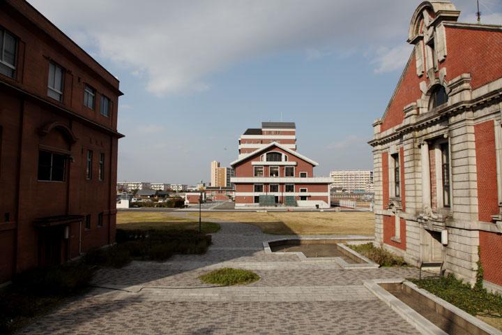 鍋屋上野浄水場 大正3年3月に完成