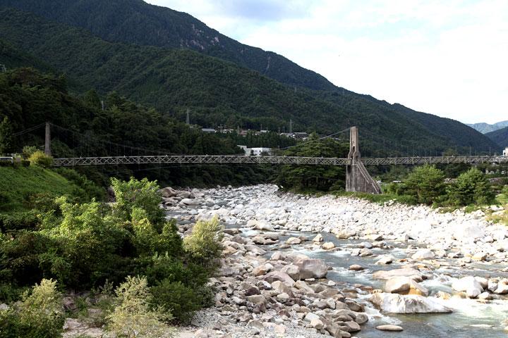 桃介橋(南木曽町)