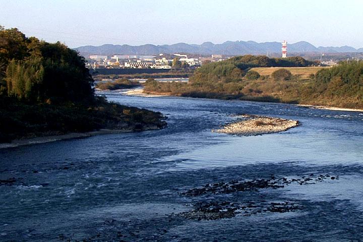 木曽川(可児市)