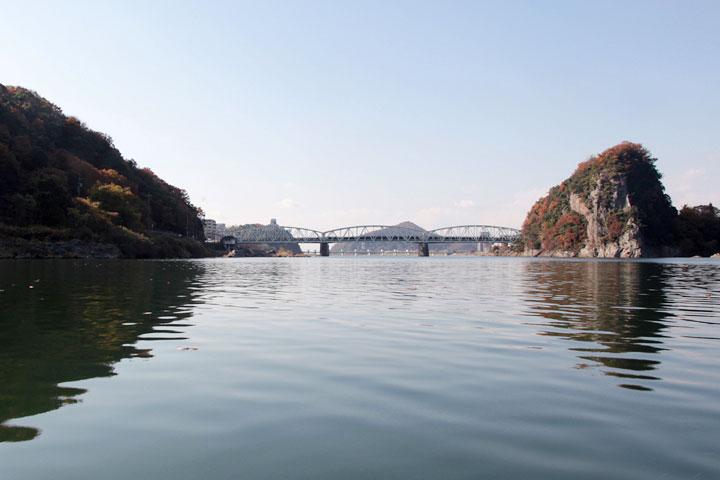 名古屋市上水道第二取水口付近