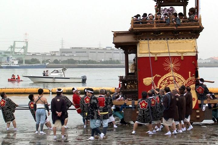半田亀崎潮干祭