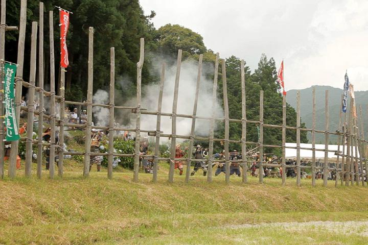 設楽原決戦場祭り