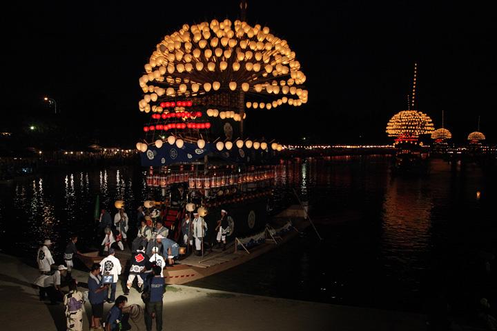 尾張津島天王祭宵祭