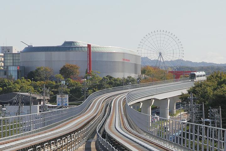 トヨタ博物館とリニモ