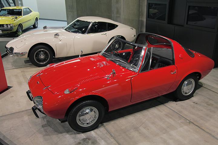 トヨタ スポーツ800 UP15型 1965