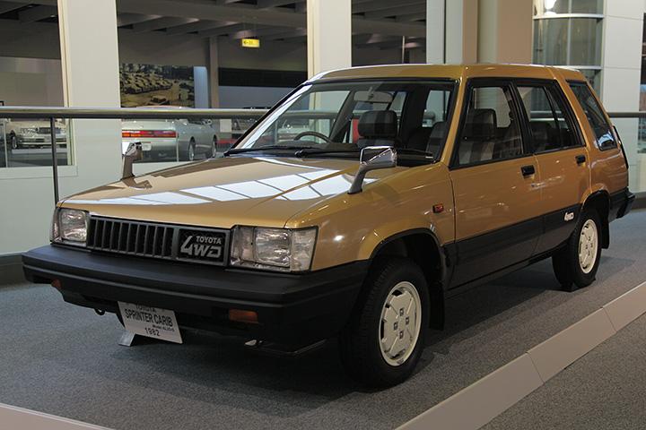 トヨタ スプリンターカリブ AL25-G型 1982