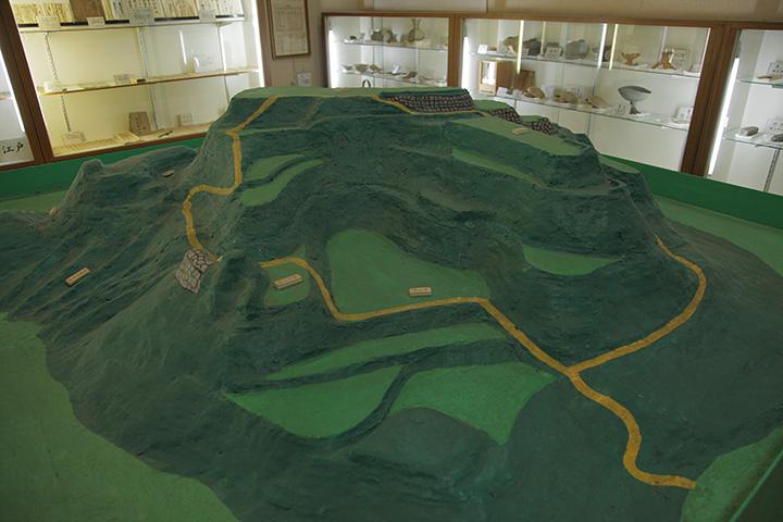 市場城の模型