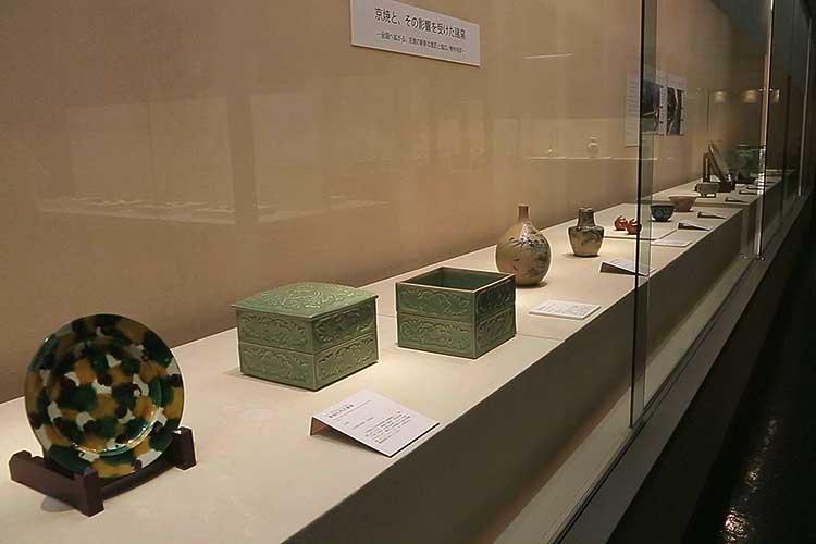 第3展示室-日本陶磁の常設展示