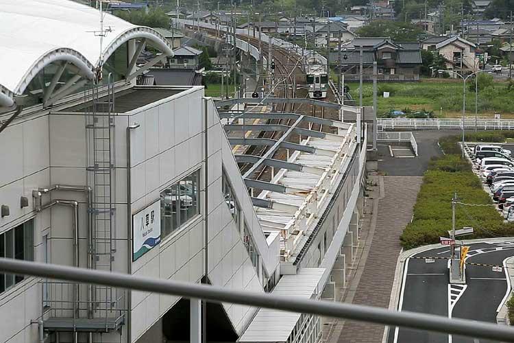 愛知環状鉄道八草駅