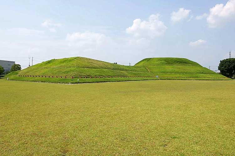 青塚古墳-青塚砦跡