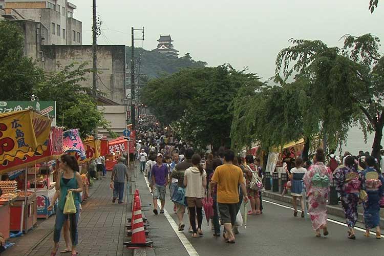 日本ライン夏まつり納涼花火大会