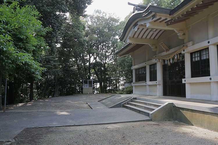 外久保砦跡(現在の熊野神社)