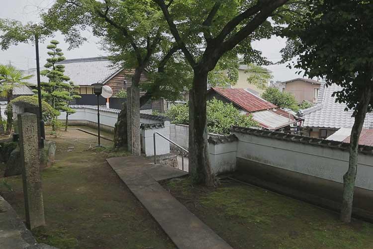田楽砦跡周辺(春日井市北端)