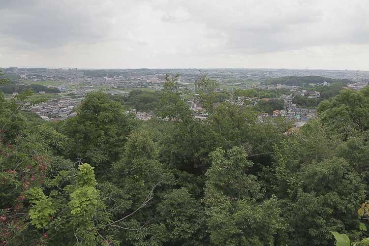 平成展望台からの風景