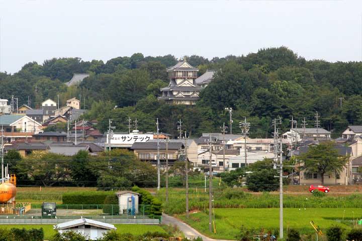 岩崎城の周辺