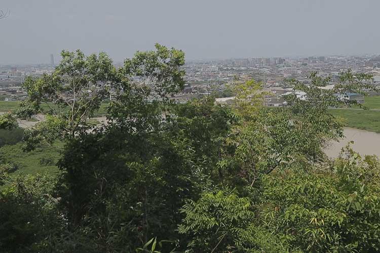竜泉寺から見た庄内川