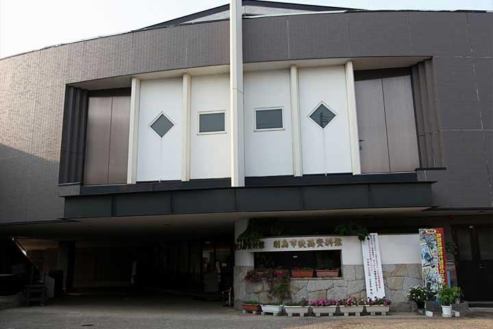 併設の羽島市映画資料館