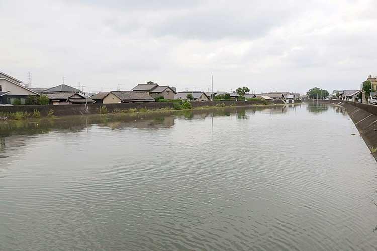 蟹江川は江戸時代に開削された