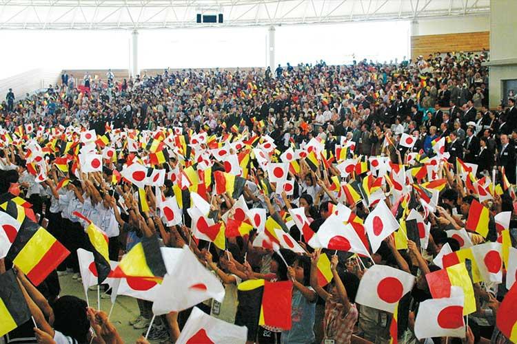 ベルギーナショナルデー応援