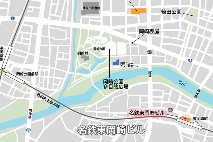 名鉄東岡崎駅ビル