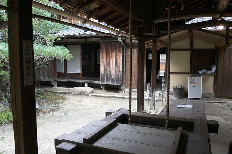石原邸中庭
