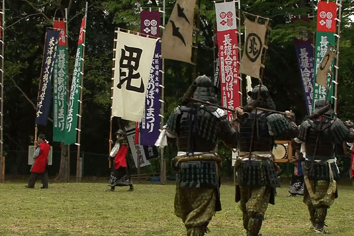 米沢藩稲富流砲術隊