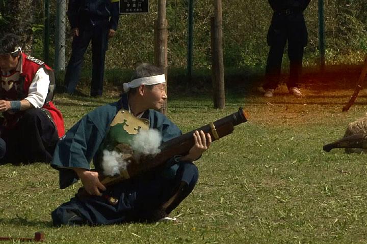 日本前装銃射撃連盟演武