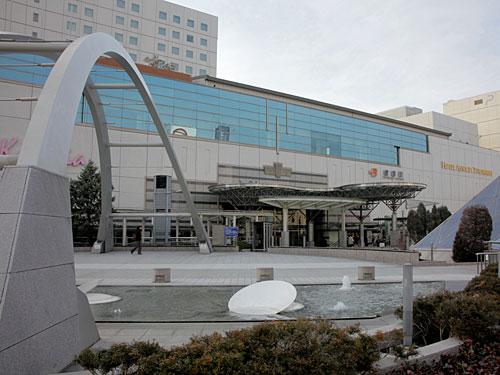 豊橋駅 2012年1月撮影