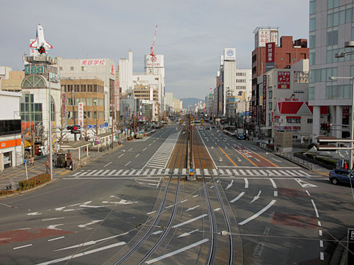 豊橋駅前大通 2012年1月撮影
