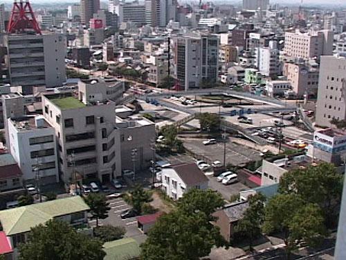 西八町交差点 2007年撮影