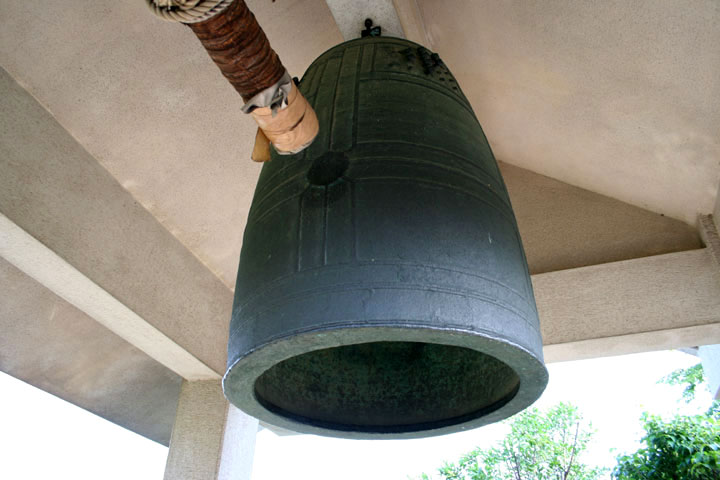 三河国分寺の銅鐘
