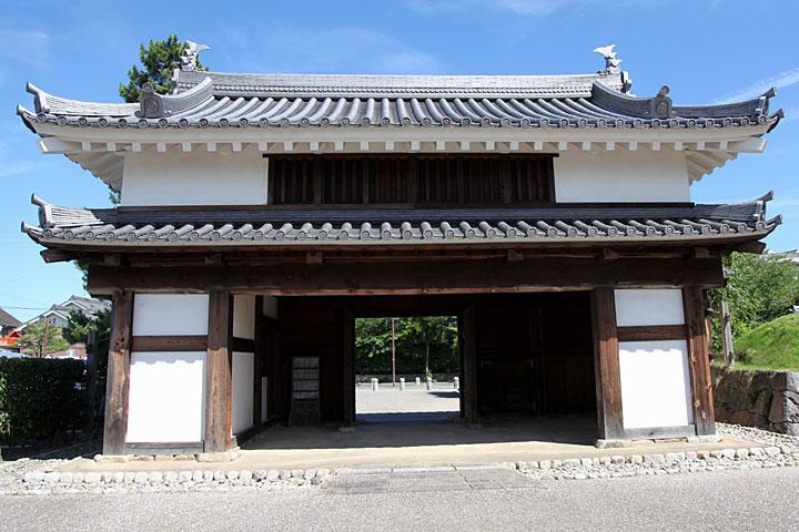 西尾城二之丸鍮石門(ちょうじゃく門)