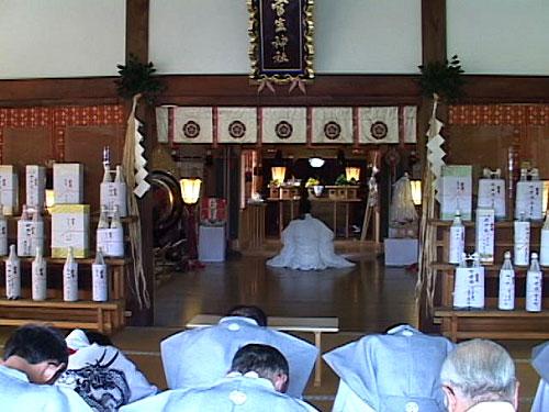 菅生神社本殿