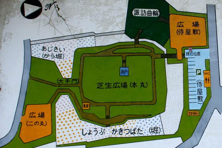 沓掛城郭略図