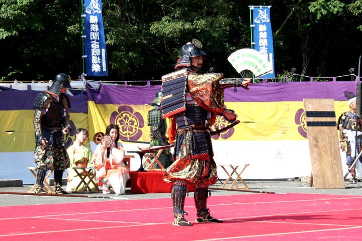 熱田神宮での戦勝祈願