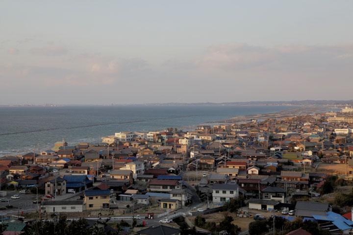 富具崎展望台からの風景