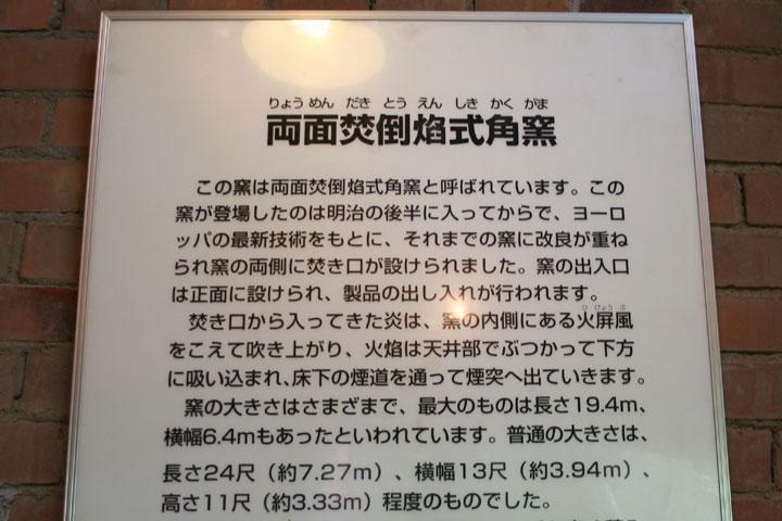 1両面焚倒焔式角窯(りょうめんだきとうえんしきかくがま)解説