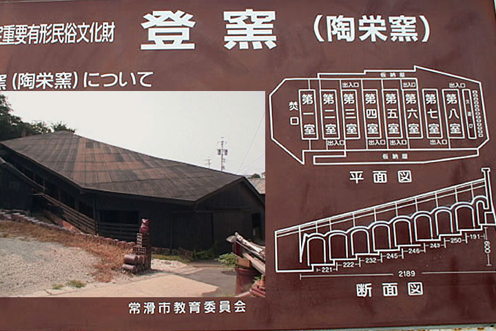 登窯(陶栄窯)