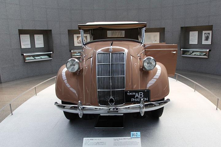 トヨタ AB型フェートン(1936年・日本)