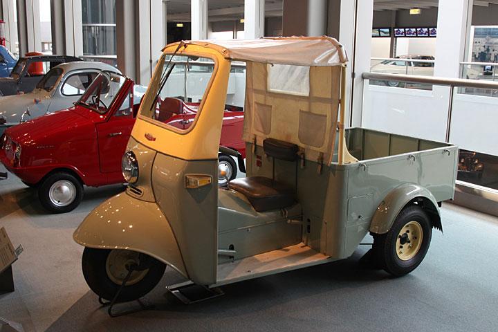 ダイハツ ミゼット DKA型(1959年・日本)
