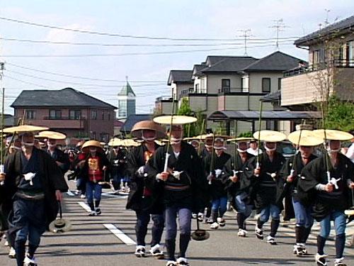 西切り 富士浅間神社へ