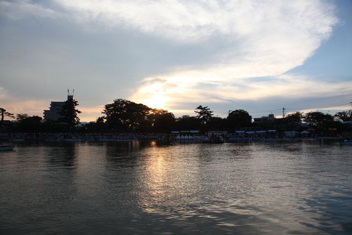 日没の天王川公園