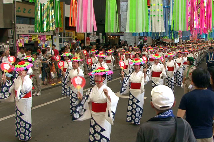 民踊大パレード