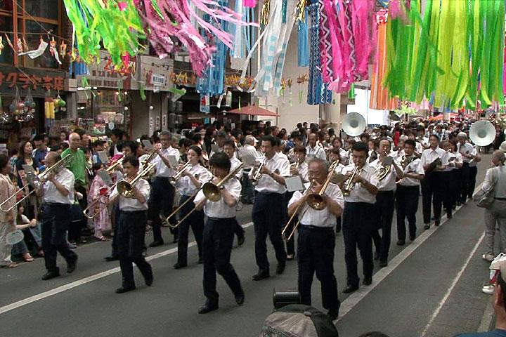 音楽隊パレード
